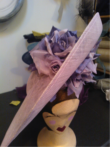 This hat is just a few of the beautiful things we've made to order this summer at Mille Fleurs in Otford! Enjoy!