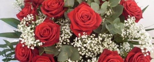 Valentines Day Flowers 14th Feb from Denise Thompson,One of Kents leading florist&#8217;s in Otford,Sevenoaks.