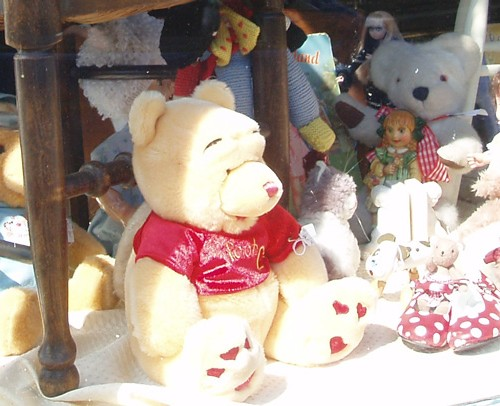 Toy Window at Otford Antiques Centre, Sevenoaks, Kent