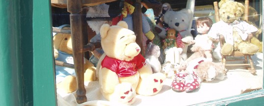 Come and meet our toys and bears and Otford Antiques Centre