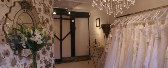 Visit our Sevenoaks Bridal shop now open Sundays