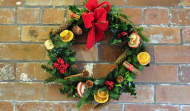 Christmas Wreath Making and Table / Mantle Decoration Workshop evenings Tuesday 11th/Friday 14th December 2018