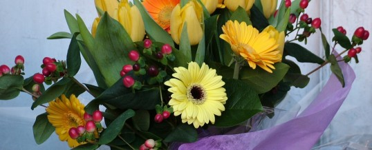Come and make an arrangement in our Spring Workshop