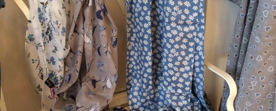 New Spring Scarves at Mille Fleurs.
