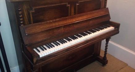 Piano By A. V. Retford. £345