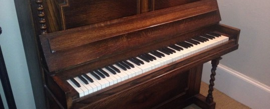 Otford Antiques Item of the Month: Piano by A V Retford