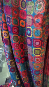 Lovely patterned pure wool wrap at £44!