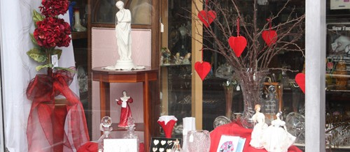 Valentines at the Otford Antiques and Collectors Centre