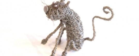 Wire Knit Sculptures